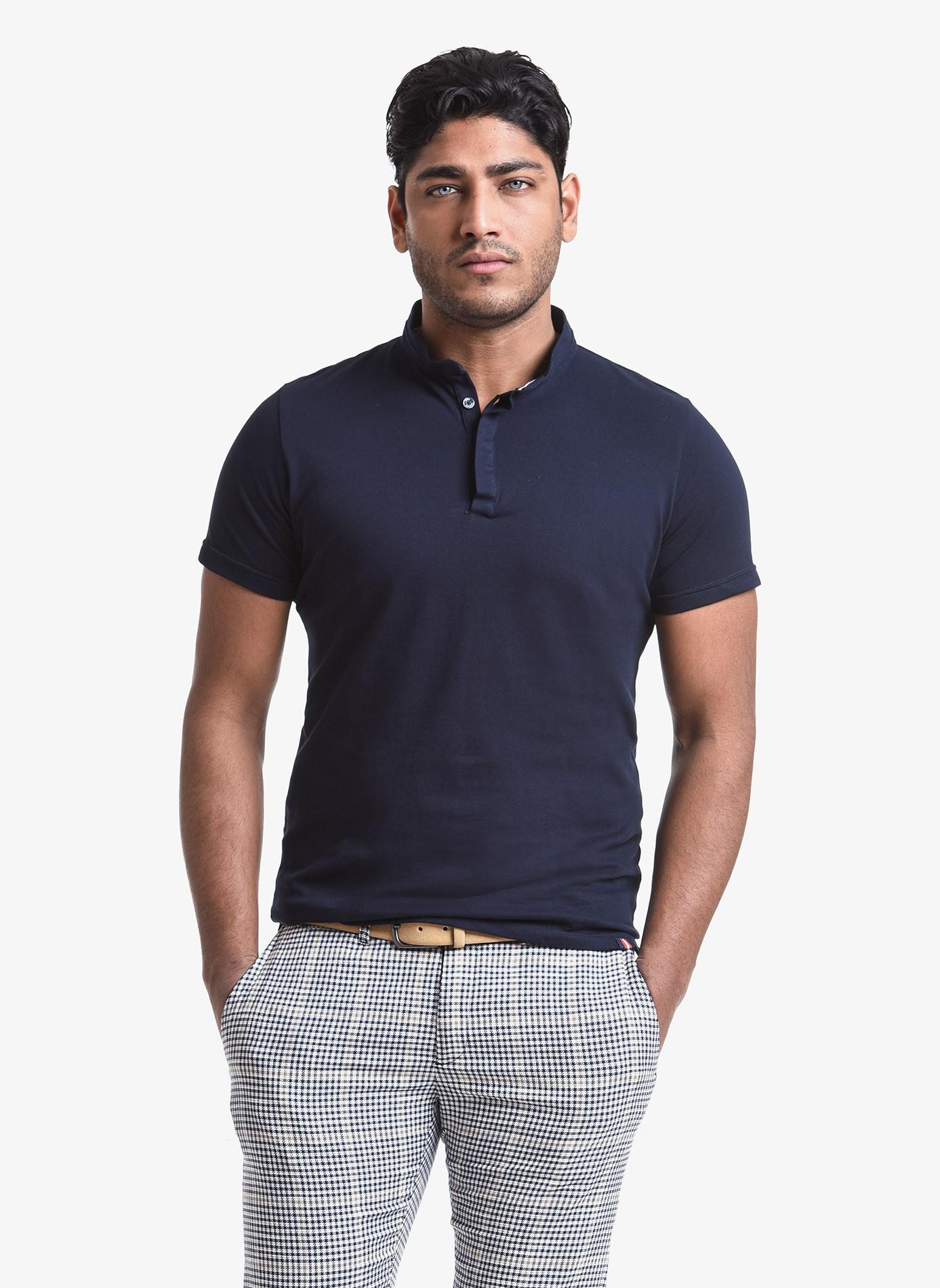 575a6ae43d46 John Barritt man polo shirt